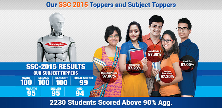 Our SSC 2015 Toppers